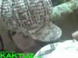 Stolen blowjob video of a hot teen