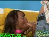 Sophie and Jada squirt while sharing a cock