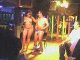 Sexy stripper recorded in a club