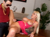 Hot chick fucked cause her man lost poker game