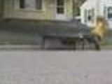 Poor Skater Boy Eats The Ground