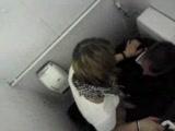 Caught fucking on the toilet