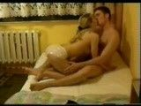 Hot teen couple make their first sextape