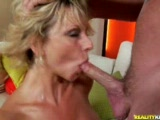 Tall MILF fucked by the MILF Hunter