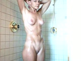 40 year old MILF in the shower