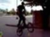 BMX trick wents wrong