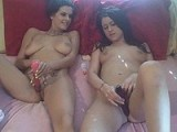 Two hot BFF's get a little naughty together