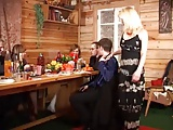 Russian Slut  Milf Gets Two In The Ass part 1