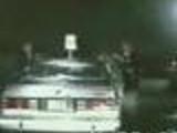 Naked Girls in Car -> Police