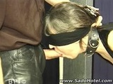Tit Clamps and a Blowjob