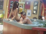 Hot couple fucking in the jacuzzi