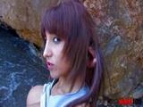 mmm100 - Fayna Vergara in the Beach