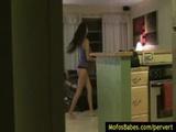 09-Private voyeur porn spy on hot amateur ...