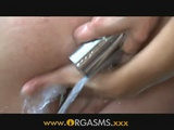 Lovely Teens Having A Sensual Lesbian Sex In Shower