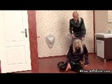 Horny Blonde Babes Getting A Bukkake