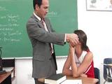 Sexy Bailey gets teacher off