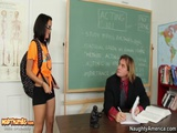 Dillion Harper Gets Fucked Hardcore In The Classroom By A Huge Dic