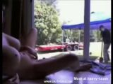 Fingering In Front Of The Gardener - Gardener Videos