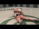 Aggressive Asian Lesbian Wrestles