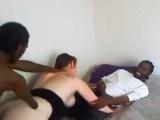 African Handicap War Refugees Fucking White Slut