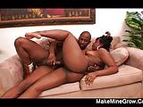 Thick Cock fucks a sexy ebony Lailonni Ballix2
