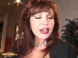 Hungry MILF Sexy Vanessa Swallows Jizz After A Steamy Anal Sex