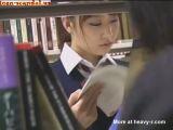 Innocent School Girl Groped In School Library - Japanese Videos