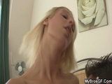 Cheating GF Gets Pussy Licked And Fucked Hardcore On Bed