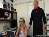 Hot Tattooed Blonde Jessa Rhodes Gets Fucked Hardcore By Big Boss