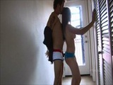 Sexy schoolgirl Rachel fucking in the mid ...