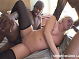 Interracial Sex For Big Ass Blonde2