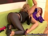 Sexy euro fetish lesbos get hot