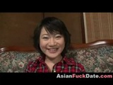 Smiley Asian Teen Screaming Orgasm