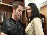Huge Penis And Table Sex With Pornstar