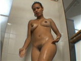 Gf's young sister in the shower