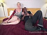 Busty Granny in Creampie Video