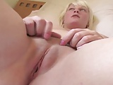 CHUBBY BLONDE BRYONY HAIRY PINK PUSSY BIG PINK TITS 1