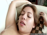StepSiblings Plump Hairy Babe Licks Shaved Pussy
