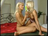 Two blondes get it on