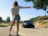 Teen Hitchhiker Stopped The Wrong Car This Time