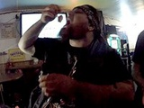 Biker pulls out his wife's bloody tampon and eats it!?