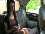 Sweet young girl gets fucked in fake taxi
