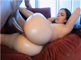 Hot white pussy fucked by big black cock