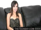 Cute Talia from Bacroom Casting Couch