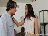 Brunette Mischa Brooks Fuck Her Neighbor On Naughty America