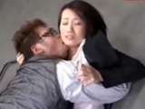 Office Lady Getting Her Pussy Licked Sucking And..