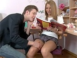 Studying Together Turns Into A Great Anal Fuck