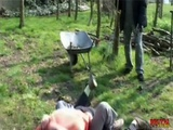 Intense Outdoor Fucking With Brunette