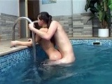 Horny Teens Fuck Like Rabbits At The Local Spa