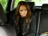 Hot amateur sex in fake taxi with amazing girl